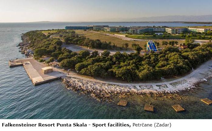 Falkensteiner Resort Punta Skala – Sport facilities, Petrčane