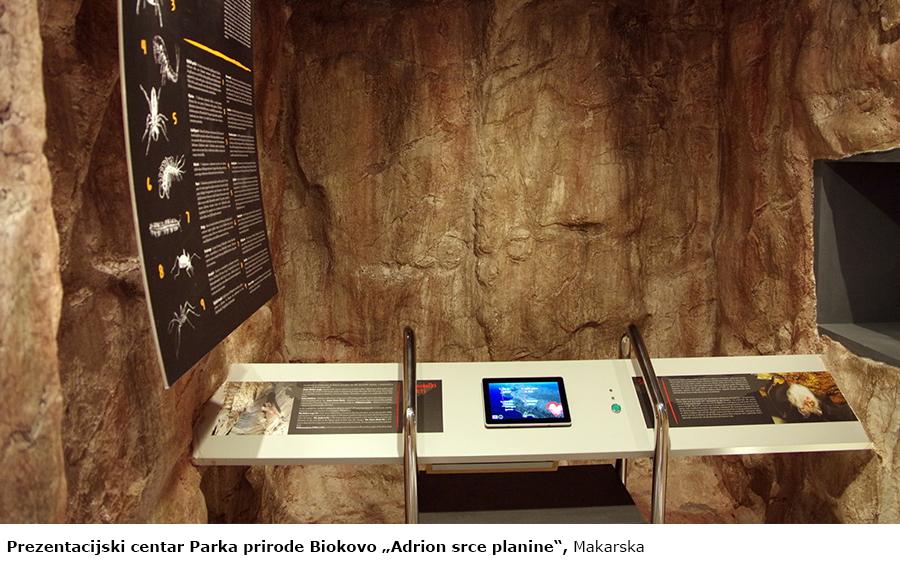"""Prezentacijski centar Parka prirode Biokovo """"Adrion srce planine"""" Makarska"""